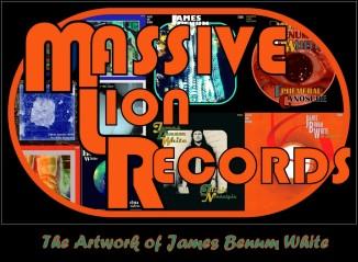 Massive Lion Records - The Artwork of James Benum White
